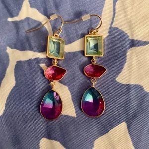 Nordstrom's faux tourmaline earrings